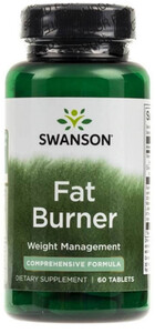 Swanson Fat Burner 60 tabl. 040066