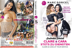 Marc Dorcel CLAIRE AND CARA AT YOUR SERVICE DVD
