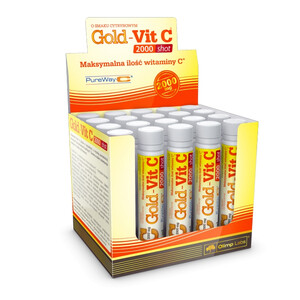 Witamina-C Olimp GOLD-VIT C 2000 SHOT amp. 25 ml 067730