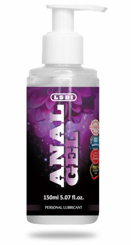 Śliski żel analny ANAL GEL LSDI SPRAY 150 ml 901261